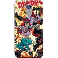 Силиконовый чехол BoxFace Huawei Honor 6A Deadpool and Mary Jane (32972-up2454)