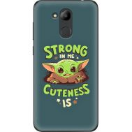 Силиконовый чехол BoxFace Huawei Honor 6C Pro Strong in me Cuteness is (33132-up2337)