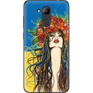 Силиконовый чехол BoxFace Huawei Honor 6C Pro Ukraine Girl (33132-up2373)