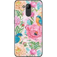 Силиконовый чехол BoxFace Huawei Honor 6C Pro Birds in Flowers (33132-up2374)