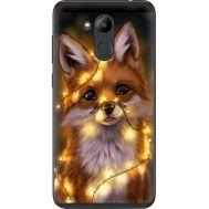 Силиконовый чехол BoxFace Huawei Honor 6C Pro Рождественская лиса (33132-up2399)