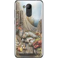Силиконовый чехол BoxFace Huawei Honor 6C Pro Удачная рыбалка (33132-up2418)