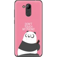 Силиконовый чехол BoxFace Huawei Honor 6C Pro Dont Touch My Phone Panda (33132-up2425)