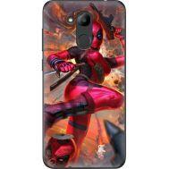 Силиконовый чехол BoxFace Huawei Honor 6C Pro Woman Deadpool (33132-up2453)