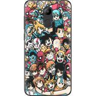 Силиконовый чехол BoxFace Huawei Honor 6C Pro Anime Stickers (33132-up2458)
