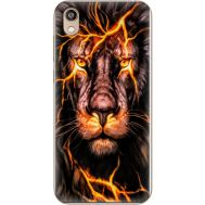 Силиконовый чехол BoxFace Huawei Honor 8S Fire Lion (37450-up2437)