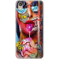 Силиконовый чехол BoxFace Huawei Honor 8S Colorful Girl (37450-up2443)