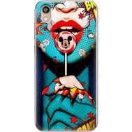 Силиконовый чехол BoxFace Huawei Honor 8S Girl Pop Art (37450-up2444)