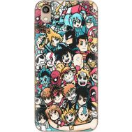 Силиконовый чехол BoxFace Huawei Honor 8S Anime Stickers (37450-up2458)