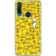 Силиконовый чехол BoxFace Huawei Honor 9X Yellow Ducklings (37996-up2428)