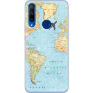 Силиконовый чехол BoxFace Huawei Honor 9X Карта (37996-up2434)