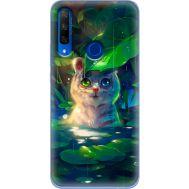 Силиконовый чехол BoxFace Huawei Honor 9X White Tiger Cub (37996-up2452)