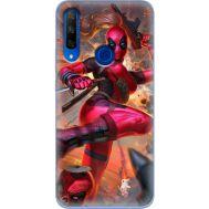 Силиконовый чехол BoxFace Huawei Honor 9X Woman Deadpool (37996-up2453)