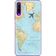 Силиконовый чехол BoxFace Huawei Honor 9X Pro Карта (38262-up2434)