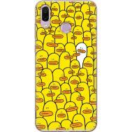 Силиконовый чехол BoxFace Huawei Honor Play Yellow Ducklings (35339-up2428)