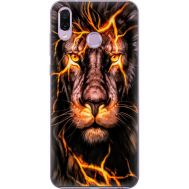 Силиконовый чехол BoxFace Huawei Honor Play Fire Lion (35339-up2437)