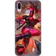 Силиконовый чехол BoxFace Huawei Honor Play Woman Deadpool (35339-up2453)