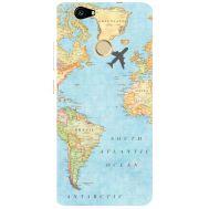 Силиконовый чехол BoxFace Huawei Nova Карта (27030-up2434)