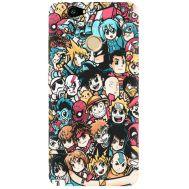 Силиконовый чехол BoxFace Huawei Nova Anime Stickers (27030-up2458)
