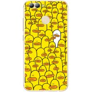 Силиконовый чехол BoxFace Huawei Nova 2 Yellow Ducklings (31556-up2428)