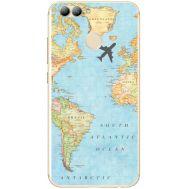 Силиконовый чехол BoxFace Huawei Nova 2 Карта (31556-up2434)
