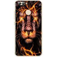 Силиконовый чехол BoxFace Huawei Nova 2 Fire Lion (31556-up2437)