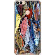 Силиконовый чехол BoxFace Huawei P Smart Sea Fish (32669-up2419)