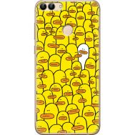 Силиконовый чехол BoxFace Huawei P Smart Yellow Ducklings (32669-up2428)