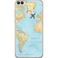 Силиконовый чехол BoxFace Huawei P Smart Карта (32669-up2434)