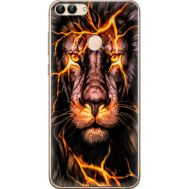 Силиконовый чехол BoxFace Huawei P Smart Fire Lion (32669-up2437)