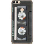 Силиконовый чехол BoxFace Huawei P Smart Старая касета (32669-up2445)