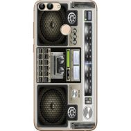 Силиконовый чехол BoxFace Huawei P Smart Old Boombox (32669-up2446)