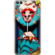 Силиконовый чехол BoxFace Huawei P Smart Girl Pop Art (32669-up2444)