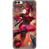 Силиконовый чехол BoxFace Huawei P Smart Woman Deadpool (32669-up2453)