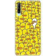 Силиконовый чехол BoxFace Huawei P Smart Pro Yellow Ducklings (38612-up2428)