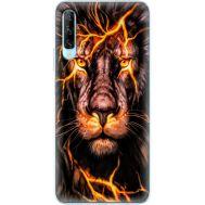Силиконовый чехол BoxFace Huawei P Smart Pro Fire Lion (38612-up2437)