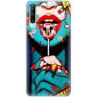 Силиконовый чехол BoxFace Huawei P Smart Pro Girl Pop Art (38612-up2444)
