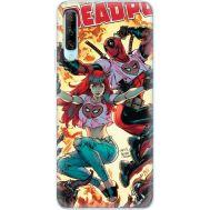 Силиконовый чехол BoxFace Huawei P Smart Pro Deadpool and Mary Jane (38612-up2454)