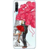 Силиконовый чехол BoxFace Huawei P Smart Pro Love in Paris (38612-up2460)