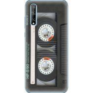 Силиконовый чехол BoxFace Huawei P Smart S Старая касета (40353-up2445)