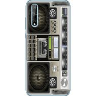 Силиконовый чехол BoxFace Huawei P Smart S Old Boombox (40353-up2446)