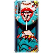 Силиконовый чехол BoxFace Huawei P Smart S Girl Pop Art (40353-up2444)