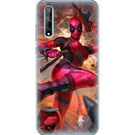 Силиконовый чехол BoxFace Huawei P Smart S Woman Deadpool (40353-up2453)