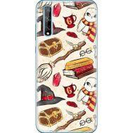 Силиконовый чехол BoxFace Huawei P Smart S Magic Items (40353-up2455)