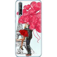 Силиконовый чехол BoxFace Huawei P Smart S Love in Paris (40353-up2460)