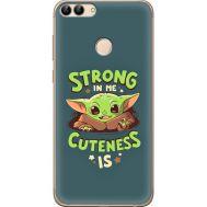 Силиконовый чехол BoxFace Huawei P Smart Strong in me Cuteness is (32669-up2337)