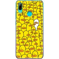 Силиконовый чехол BoxFace Huawei P Smart 2019 Yellow Ducklings (35788-up2428)