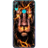 Силиконовый чехол BoxFace Huawei P Smart 2019 Fire Lion (35788-up2437)