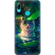 Силиконовый чехол BoxFace Huawei P Smart 2019 White Tiger Cub (35788-up2452)