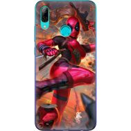 Силиконовый чехол BoxFace Huawei P Smart 2019 Woman Deadpool (35788-up2453)